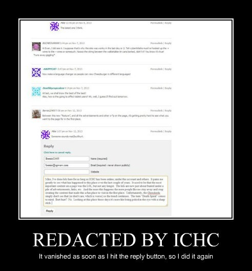 REDACTED BY ICHC