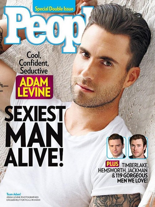 """Celeb News of the Day: Adam Levine Named """"Sexiest Man Alive"""" by People Magazine"""