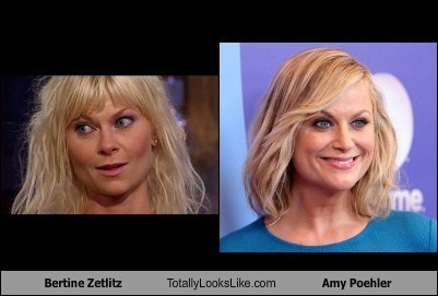 Bertine Zetlitz Totally Looks Like Amy Poehler