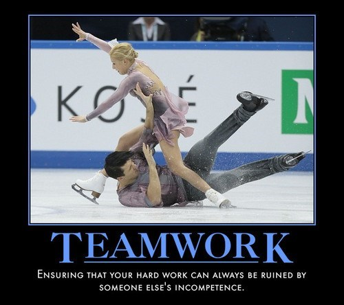 incompetent,funny,ice skating,idiots,teamwork