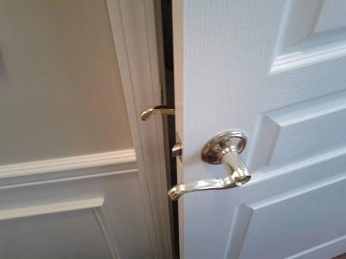 I Was Going to Rehang the Door Anyway...
