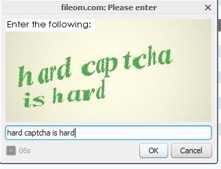 Hard Captcha is Havd? Hand? Haid?