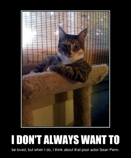 I DON'T ALWAYS WANT TO