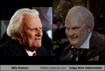 Billy Graham Totally Looks Like Judge Alvin Valkenheiser