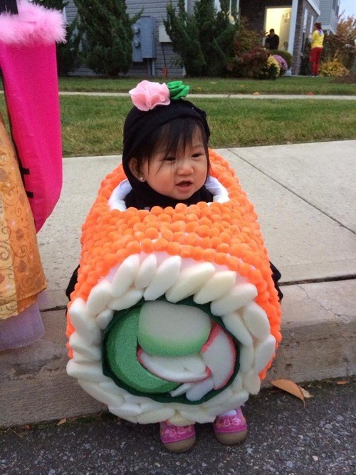 costume,sushi,parenting,g rated,poorly dressed