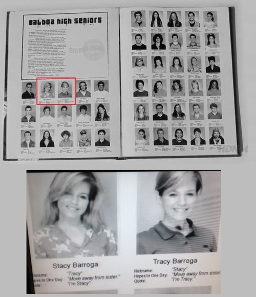 tracy barroga,yearbook photos,yearbooks,stacy barroga