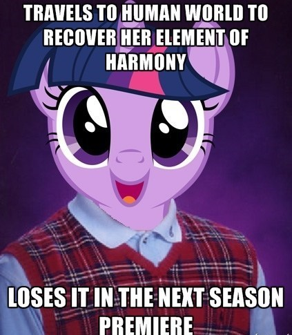 Bad Luck Twilight Sparkle