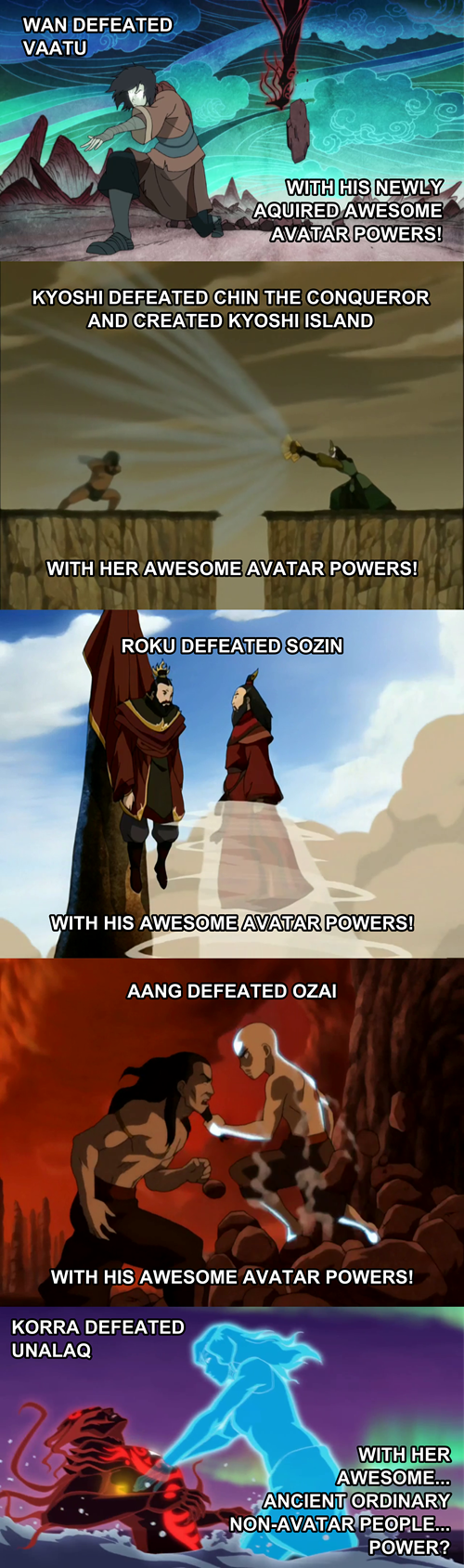 Korra's One of a Kind