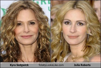 Kyra Sedgwick Totally Looks Like Julia Roberts