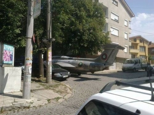 You gotta parking permit for that?