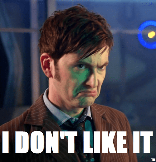 When I Realized I Had to Wait a Month for More Doctor Who