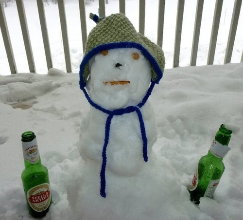 Snowmen Are Drunks