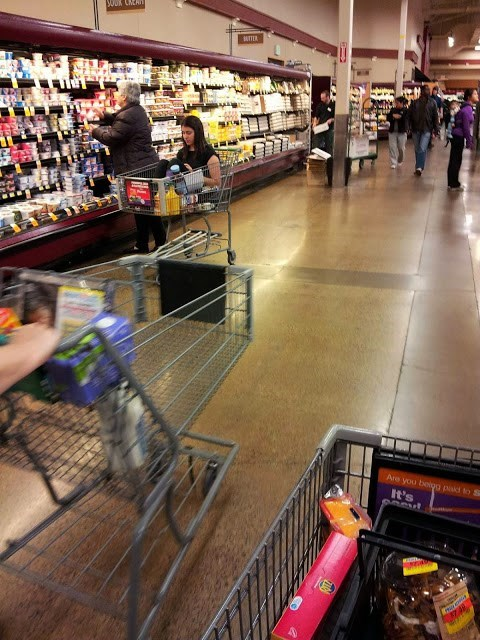 You're Never too Old to Have Tired Legs at the Grocery Store