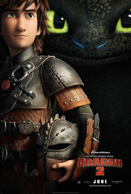 Check Out This New Poster for How to Train Your Dragon 2