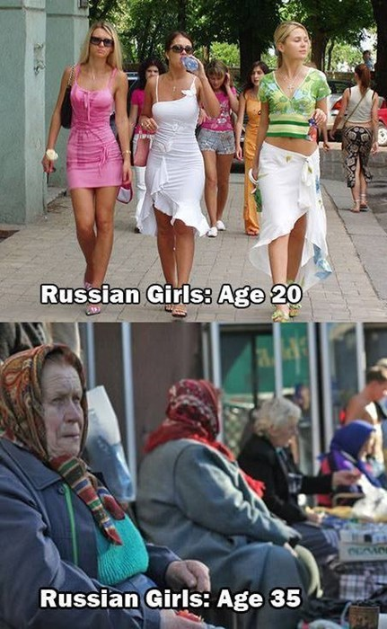 To Be Fair, Russian Men Fare no Better