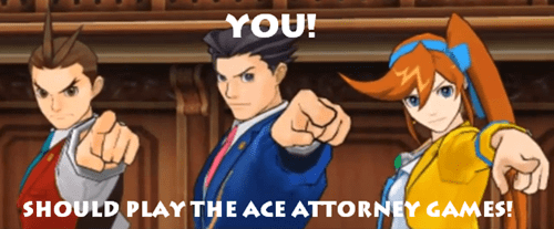 Apollo Justice, Phoenix Wright, and Athena Cykes All Agree