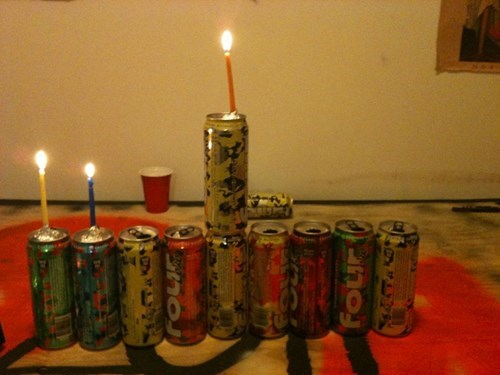 Hanukkrunk: One Loko Menorah