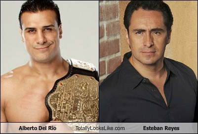 Alberto Del Rio Totally Looks Like Esteban Reyes