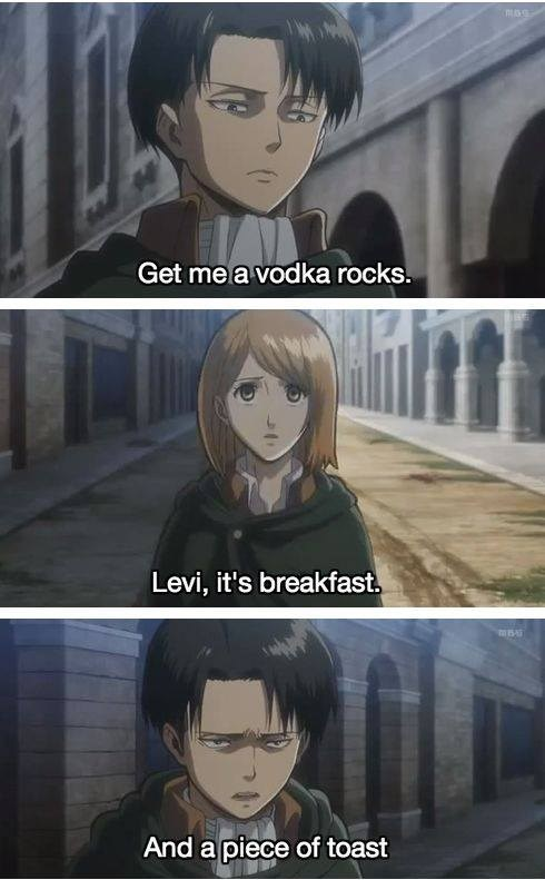 "Levi's ""Balanced"" Breakfast"