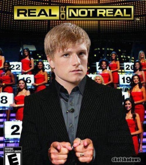 hunger games,peeta,real or not real
