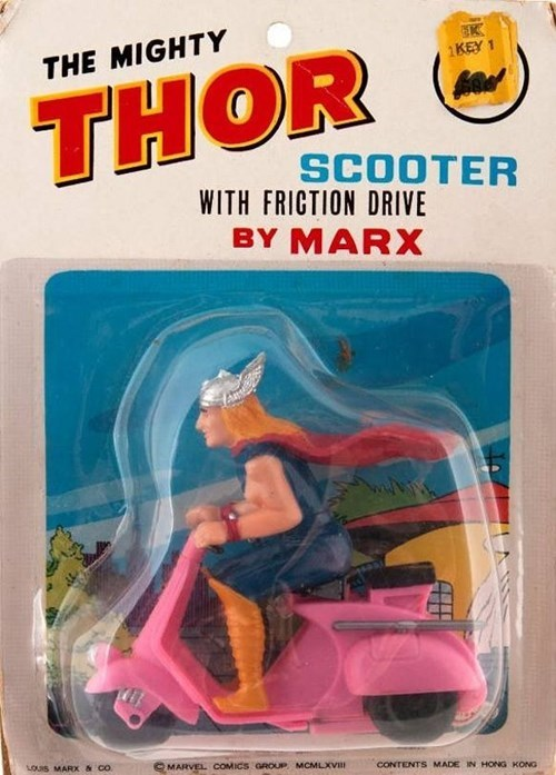 scooter,Thor,toys