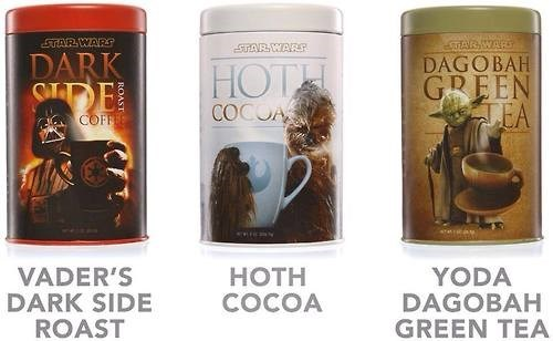 darth vader,chewbacca,coffee,star wars,yoda
