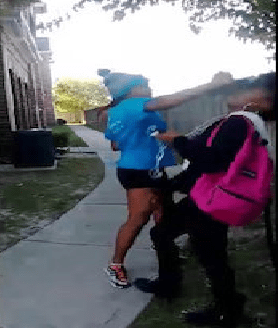"""Violent Act of the Day: """"Sharkeisha"""" Sucker Punches Unsuspecting Girl"""