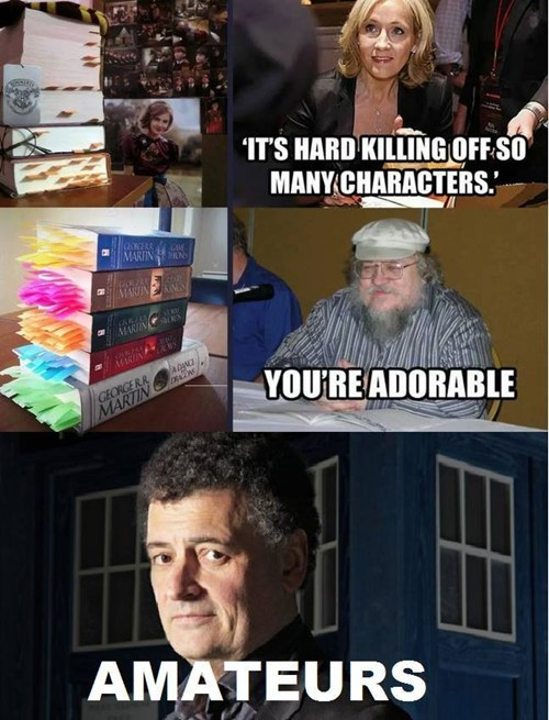Steven Moffat is a Murderer