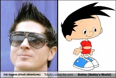 bobby,funny,totally looks like,zak bagans,bobby's world
