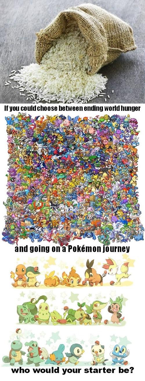 choices,Pokémon
