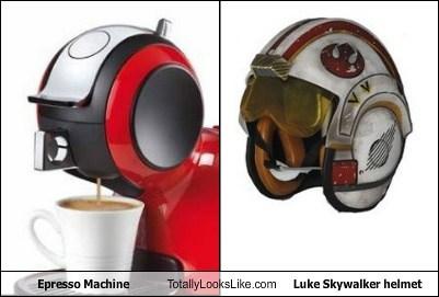star wars,totally looks like,espresso,funny