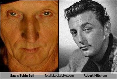 tobin bell,totally looks like,robert mitchum,funny
