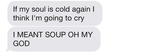 Nothing Worse Than Cold Soul
