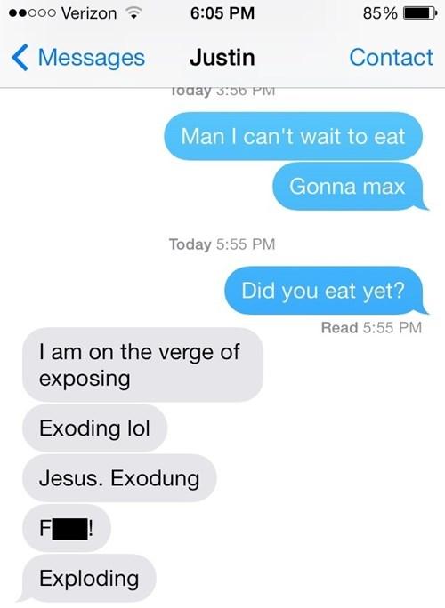 autocorrect,text,eating