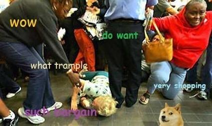 black friday,shopping,sales,doge
