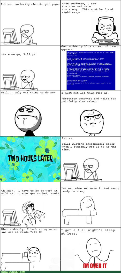 Blue Screen Problems