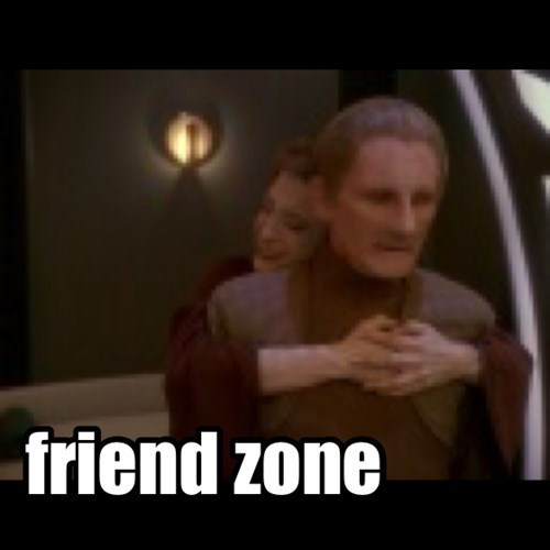 friend zone - Star Trek style