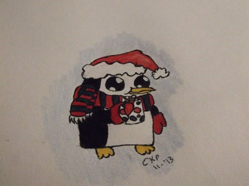 Gunter is Ready for Christmas!