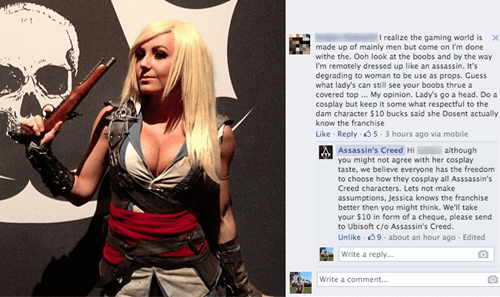Ubisoft,jessica nigri,gamers,assassins creed