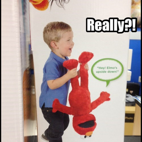 Elmo's Not Sure About This!