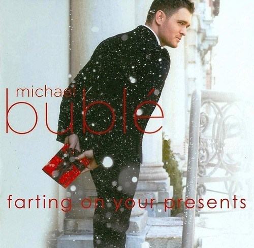 album cover,christmas,farts,michael buble,Music