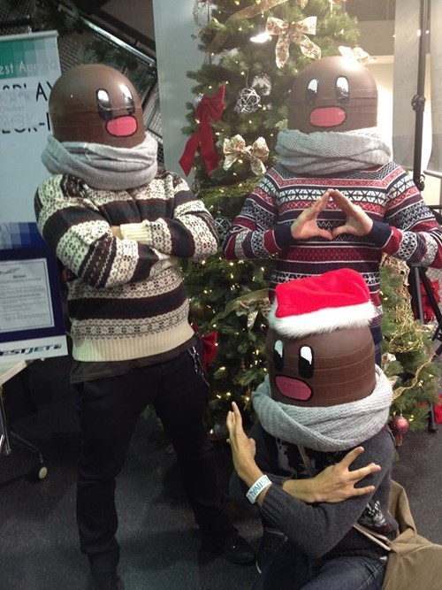 Thugtrio is Ready for Christmas