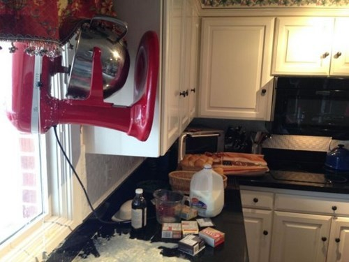 This Mixer Just Wasn't Having a Good Day