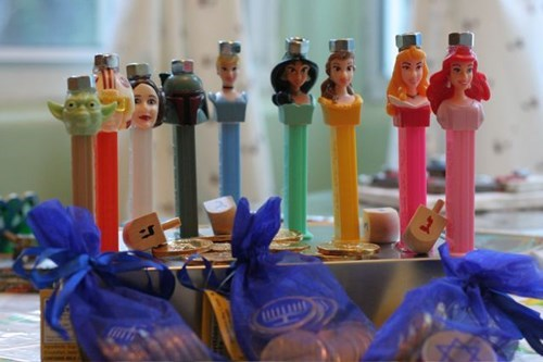 A Menorah Fit for a Princess (or Eight)