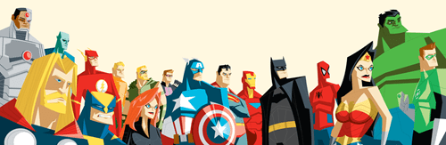 The Avengers League of Justice Assemble