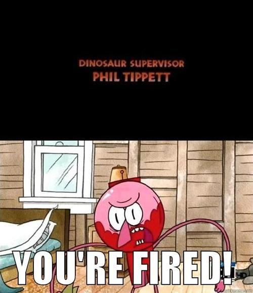 Phil Tippett Needs a New Job