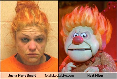 Jeana Marie Smart Totally Looks Like Heat Miser