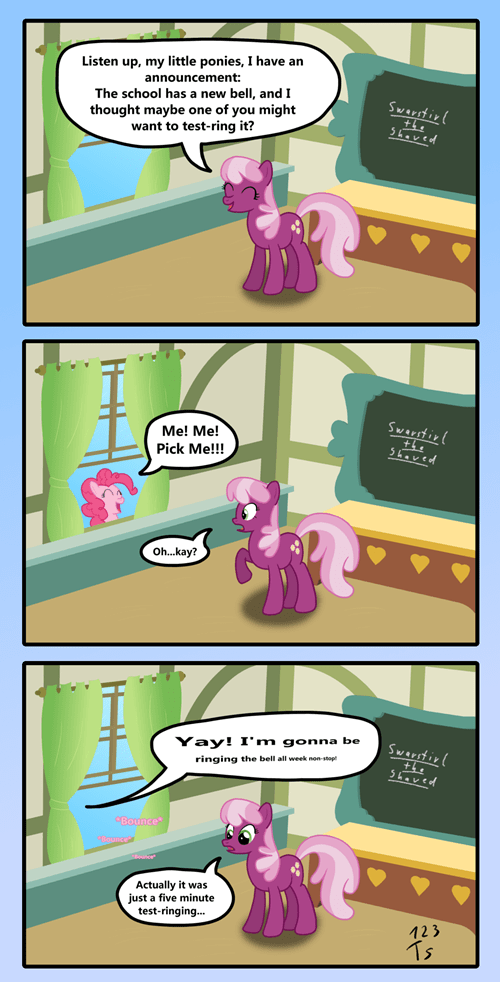 How Pinkie came to ring the bell