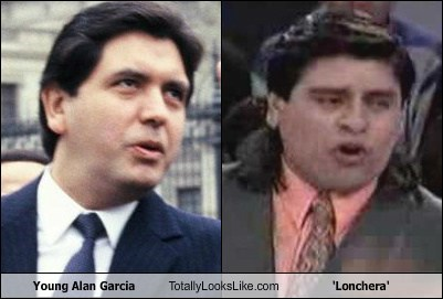 Young Alan Garcia Totally Looks Like Lonchera