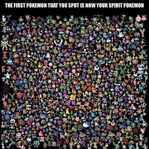 Who is Your Spirit Pokémon?